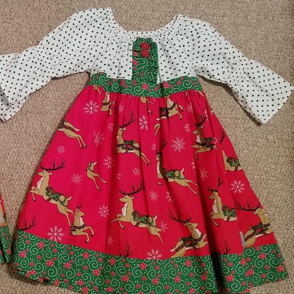 eleanor rose size 67 girls christmas dress